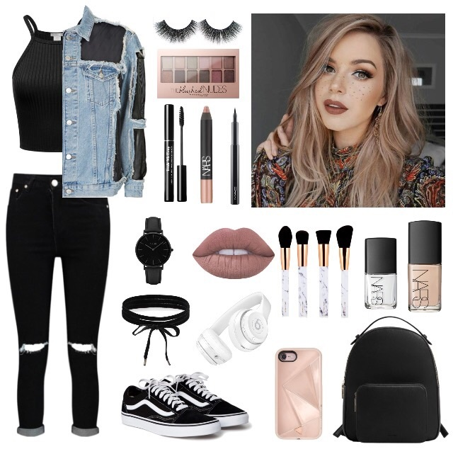 beautiful, black jeans, and clothes image