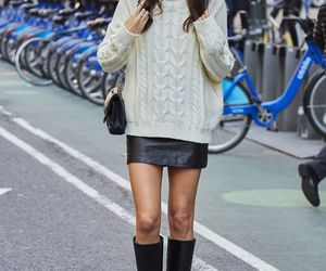 fashion, jumper, and street style image