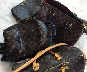handbags, luis vuitton, and packback image