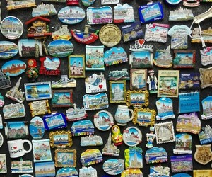 artsy, souvenirs, and budapest image