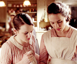 daisy, downton abbey, and sophie mcshera image