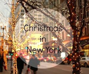 christmas, dreaming, and lights image