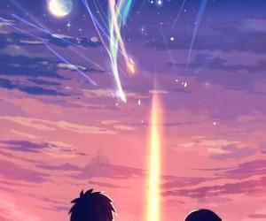 your name, anime, and kimi no na wa image