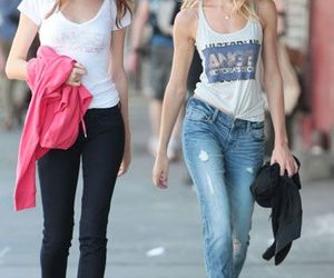 candice swanepoel, model, and Behati Prinsloo image