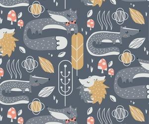 animal, forest, and hedgehog image