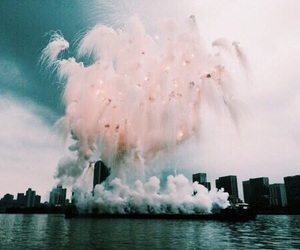 city, tumblr, and fireworks image
