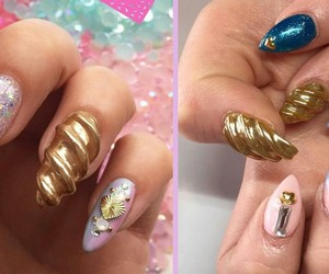 unicorn nails image