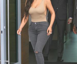 girl, kim kardashian, and outfit image