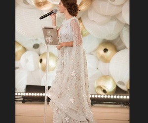 arabic, gown, and lebanon image
