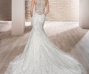 bride, gown, and white image