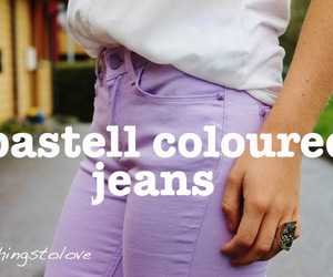 fashion, love, and jeans image
