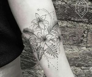 tattoo, ink, and tatoo image