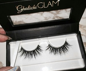 lashes, makeup, and beauty image