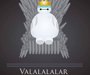 game of thrones and baymax image