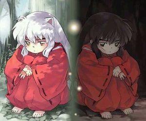 inuyasha, anime, and human image