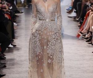 elie saab, dress, and runway image