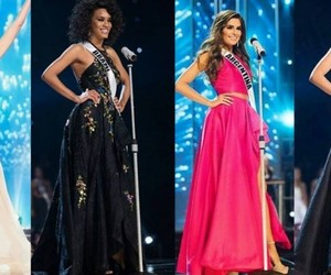 miss, miss universe, and model image