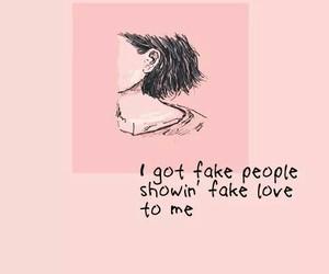 be nice, people, and fake image