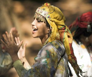 moroccan, woman, and traditional image