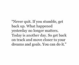 quotes, fitness, and goals image