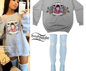 ariana grande, fashion, and outfit image