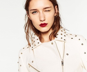 brunette, fall winter, and fashion image