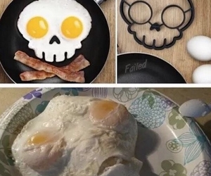 funny, food, and eggs image