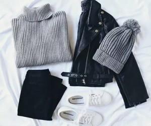 black, grey, and white image