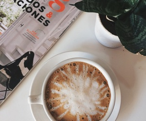 cafe, food, and revista image
