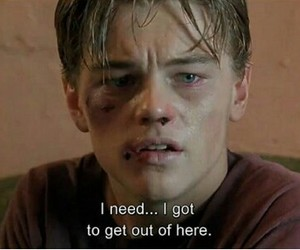 quotes, leonardo dicaprio, and sad image