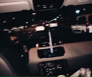 dark, grunge, and car image