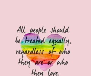 love, equality, and quotes image