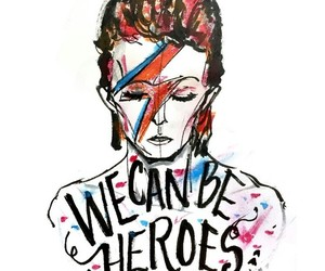 wallpaper, background, and bowie image
