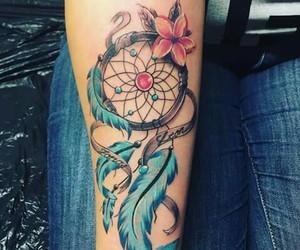 tatoo and woman image