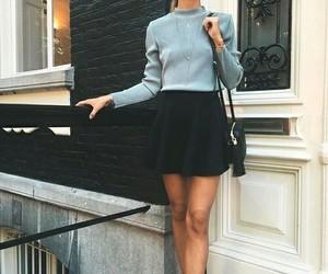 black, gray, and skirt image