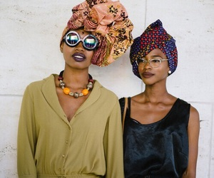 African, friend, and hairstyles image