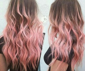 fashion, hairstyle, and pink image