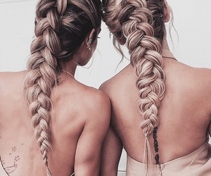 braid, tumblr, and vintage image