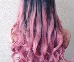 fashion, pink, and hairstyle image