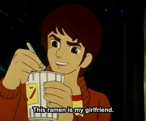 anime, ramen, and food image