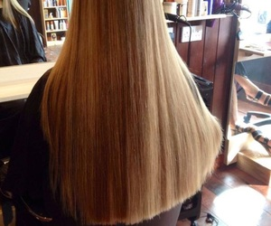 long, hair, and straight image