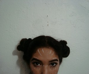 hair, makeup, and tribal image