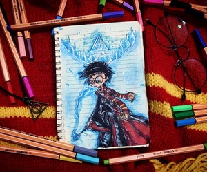 book, books, and harrypotter image