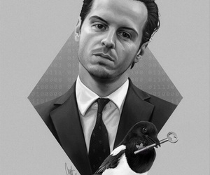 series, sherlock, and moriarty image