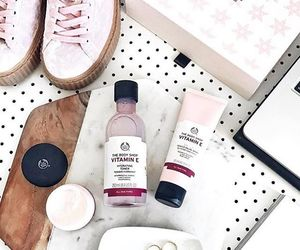 skin care, the body shop, and skin care products image