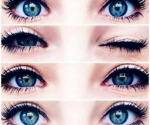 eyes and blue image