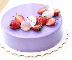 dessert, purple, and sweet image