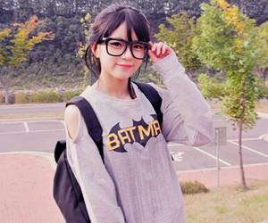 batman, girl, and korean image