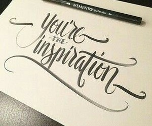 calligraphy and quote image