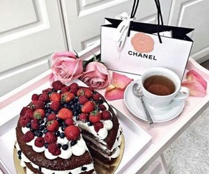 cake, food, and chanel image